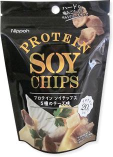 プロテインソイチップス <5種のチーズ味>
